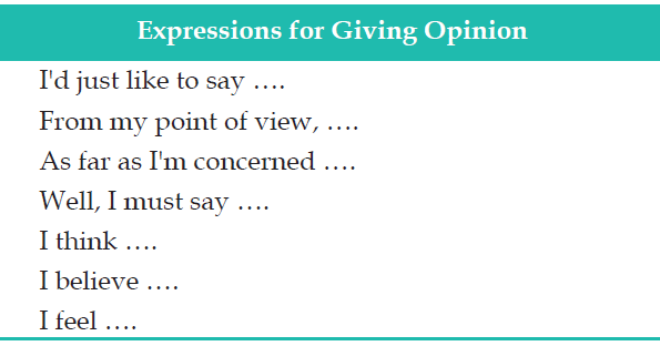 expressing opinions essay College links college reviews college essays the importance of expression being brave enough to express their own unique opinions might take.