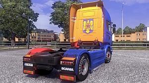 ROMANIA Scania skin