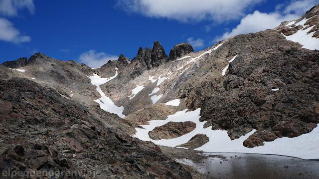 Senda lopez pico turista, la hoya, Pico Turista, trekking, ascenso