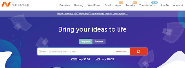 Free Namecheap Domain Coupon