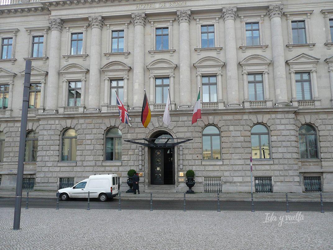Hotel de Rome fachada