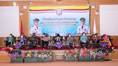 Wakil Bupati Ali Rahman Lantik Kepala Kampung Di Tiga Kecamatan