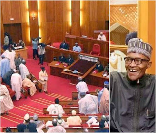 The Senate Passes President Muhammadu Buhari's Anti-corruption Bill
