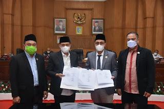 Bupati Batu Bara Sampaikan Pengambilan Keputusan Terhadap KUPA PPAS P. APBD TA 2021