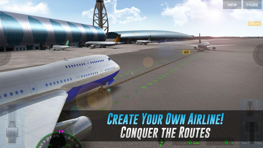 Game Pesawat Terbaik di Android Airline Commander - A real flight experience