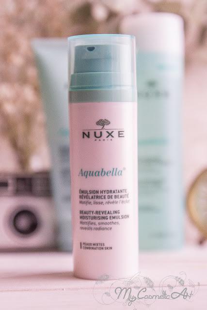 Mi experiencia con la Gama Aquabella de Nuxe para pieles mixtas.