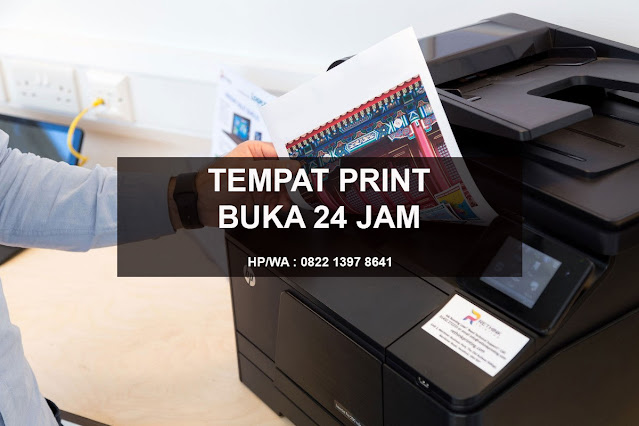 Tempat Print Buka 24 Jam Duren Sawit Jakarta Timur