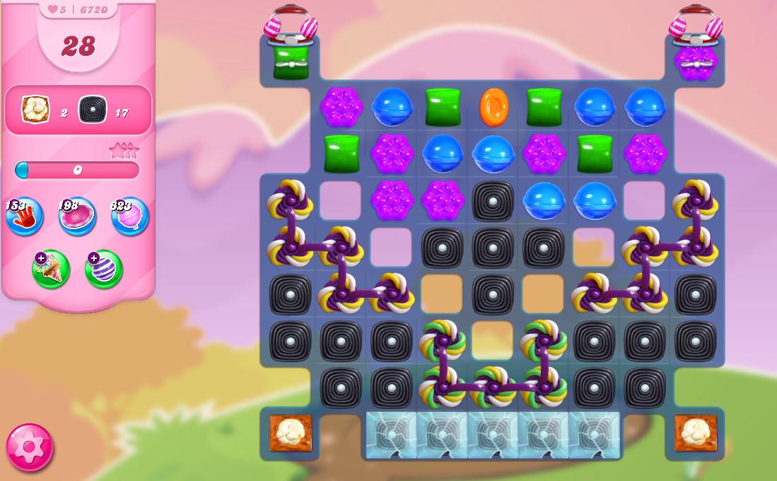 Candy Crush Saga level 6720