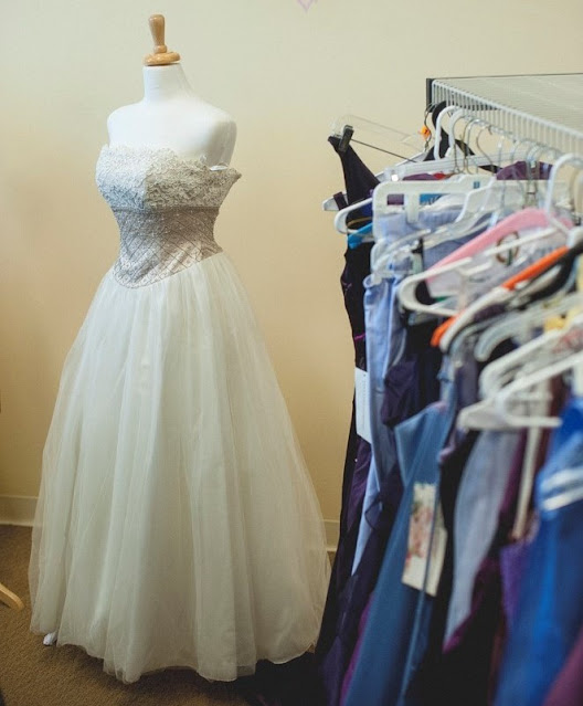 Free new prom dresses at Project Self-Sufficiency