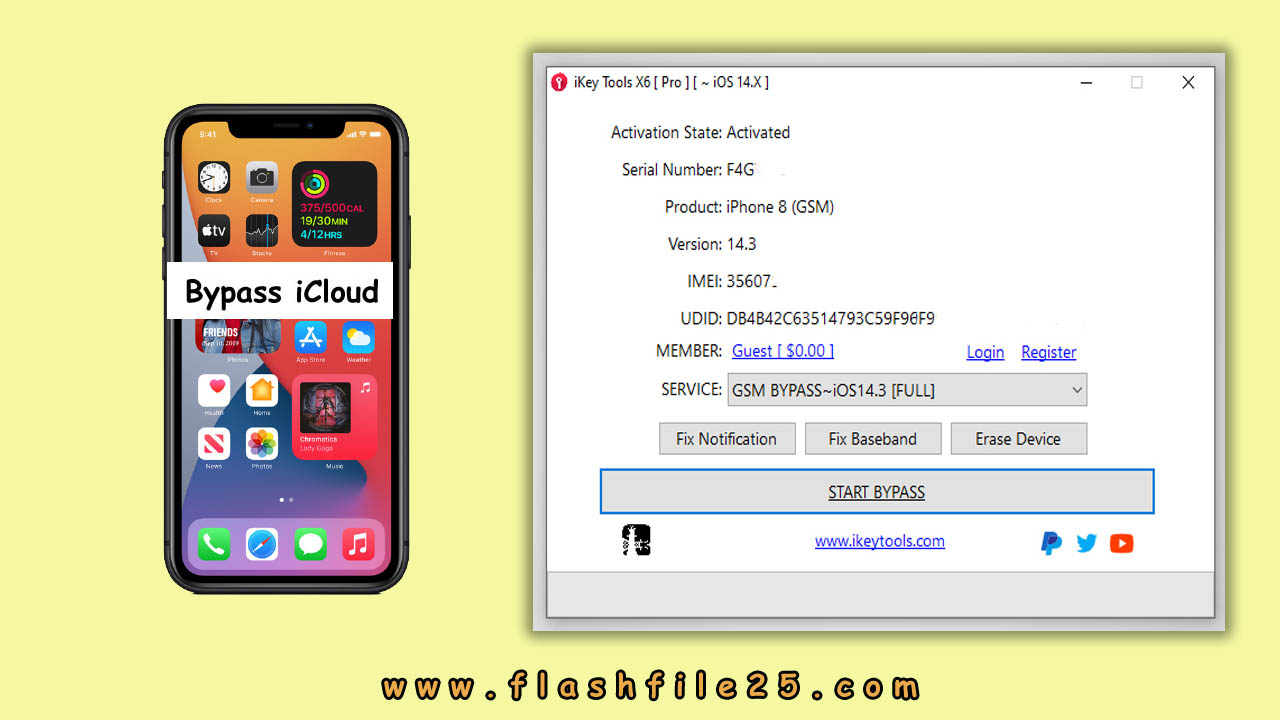 iKey X6pro iCloud Bypass Tool Download
