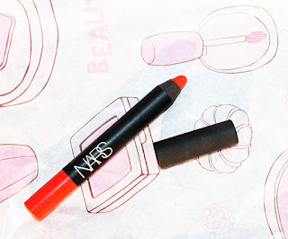 Review: Velvet Lip Pencil in Red Square - Nars
