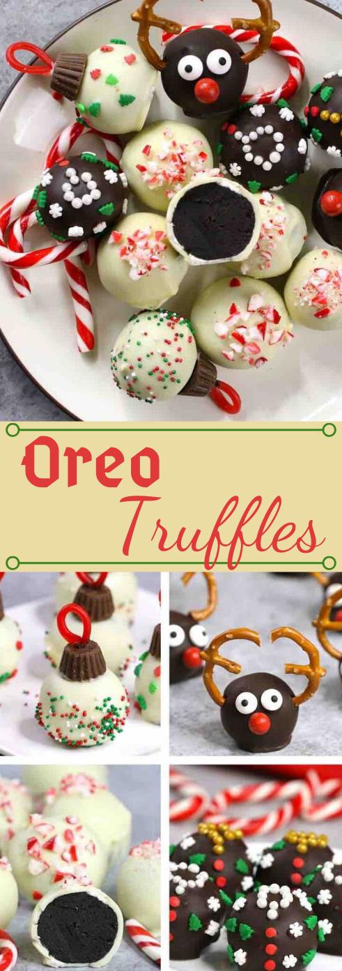 4 INGREDIENT EASY OREO TRUFFLES #desserts #cakes #oreo #easy #trufles