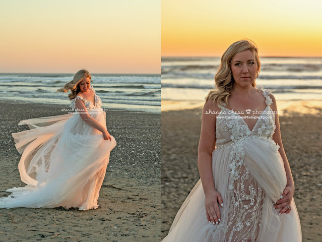 ocean sunset maternity pictures Oregon