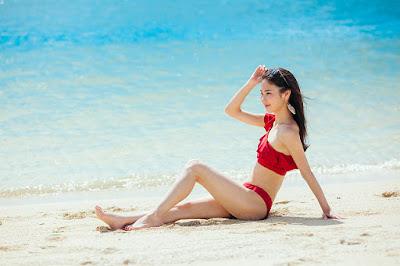 沖縄 ポートレート撮影 海