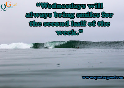 Wednesday positive quotes