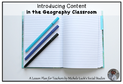 Quick Tips for Teaching Geography: Easy to implement strategies for introducing content...