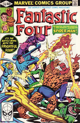 Fantastic Four #218, the Frightful Four