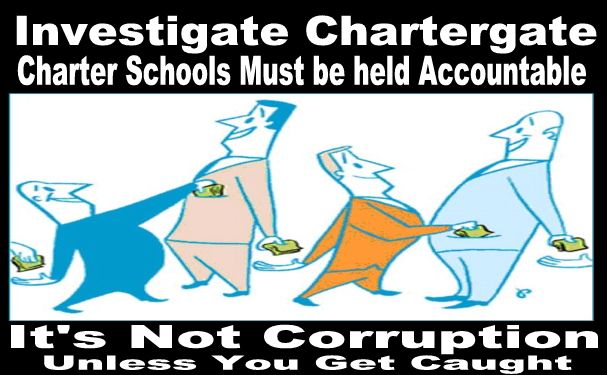 Image result for Charter School it's not corruption unless