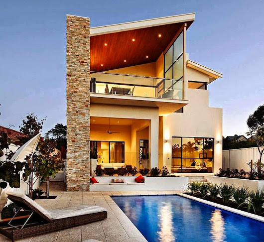 Modern Australian Home With Large Windows
