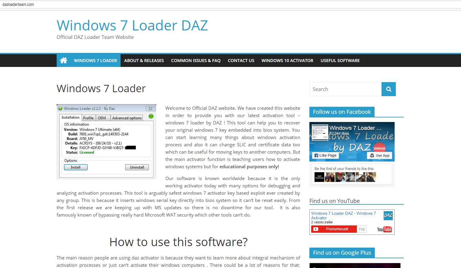 daz loader not working