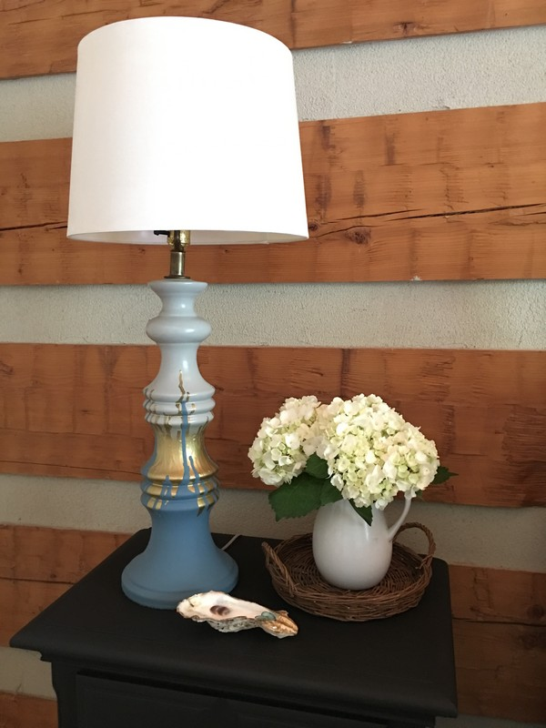 Drip Painted Lamp