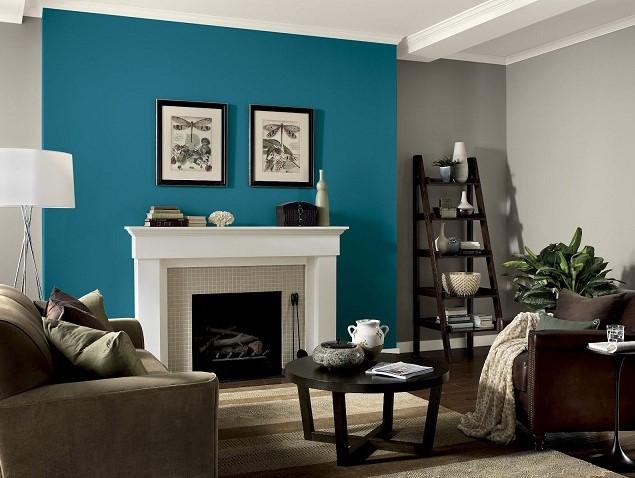 warna cat dinding ruang tamu yang bagus