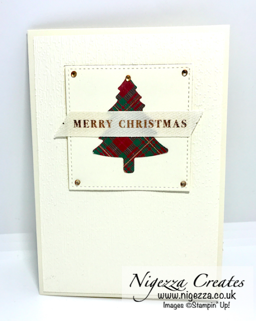 Nigezza Creates with Stampin' Up! & Ed & Wrapped in Plaid