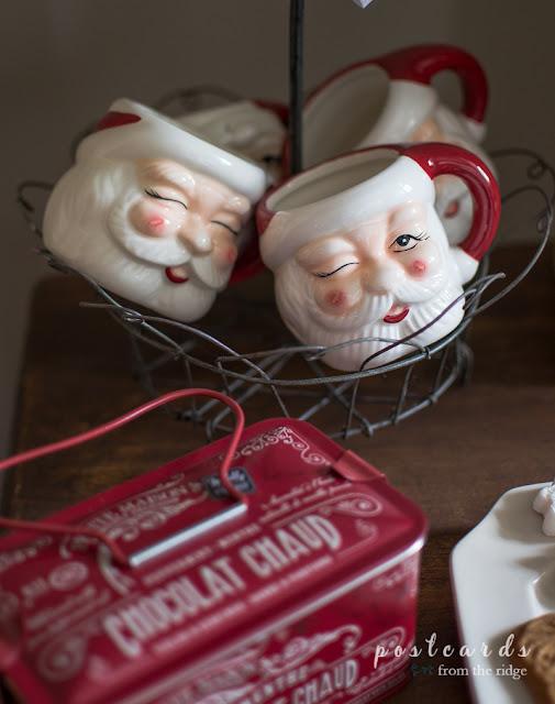 Santa Christmas mugs