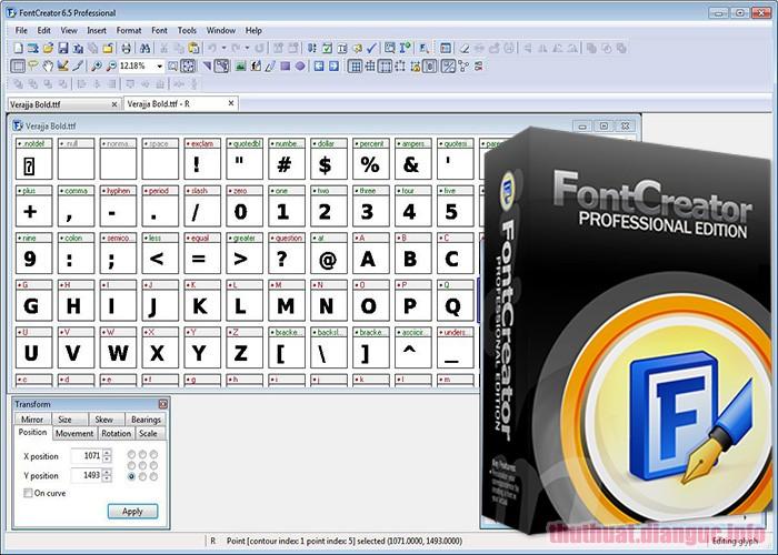 tie-mediumDownload High-Logic FontCreator Professional Edition 12.0.0.2543 Full Crack