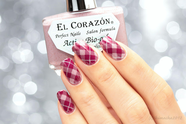 Plaid nails UberChic beauty : Pretty in Plaid-2
