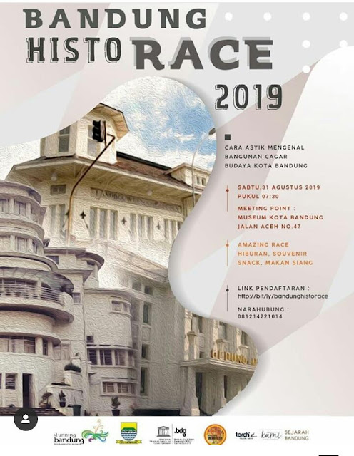 bandung historace 2019 disbud poster