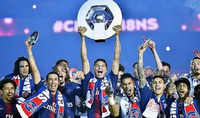 رسميا.. باريس سان جيرمان بطلا للدوري الفرنسي
