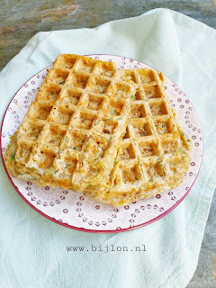 Courgettewafels