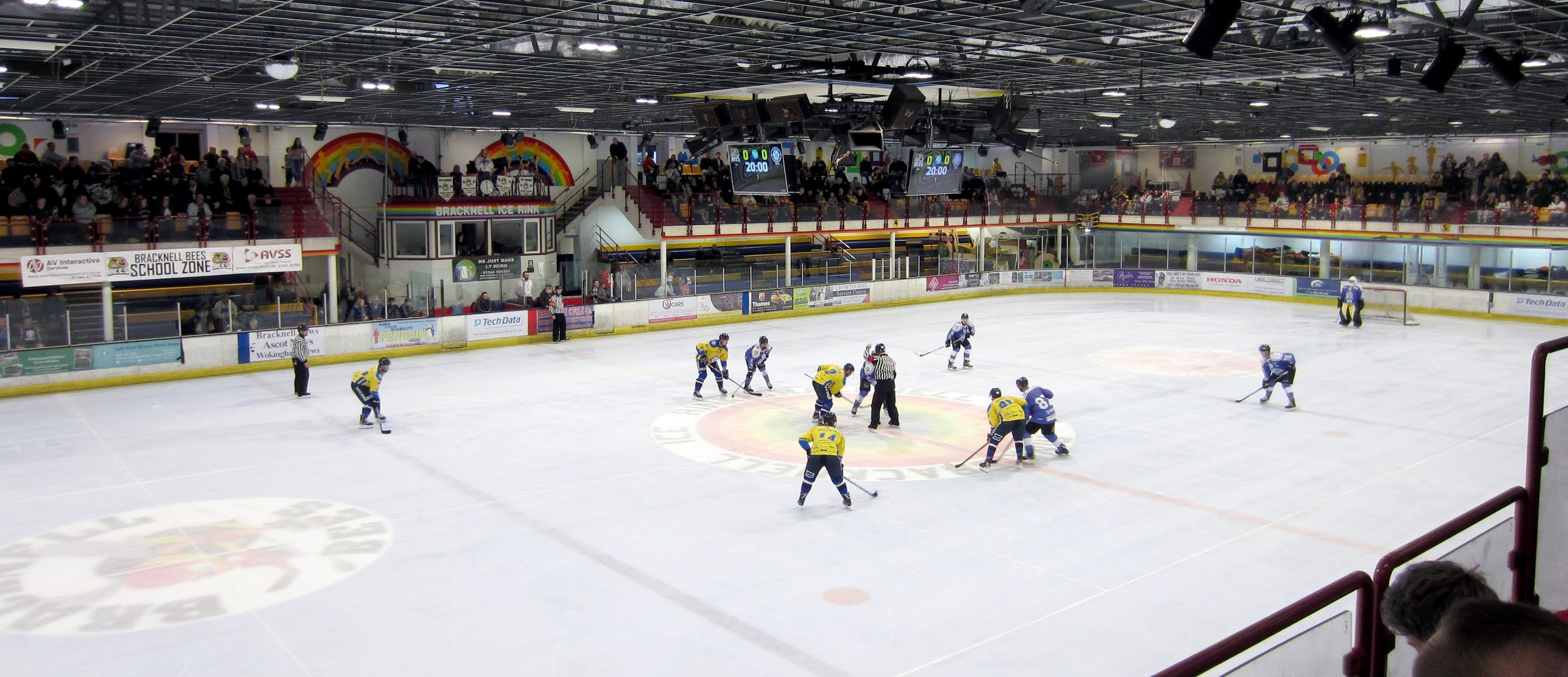 Ice hockey at the Bracknell Ice Rink