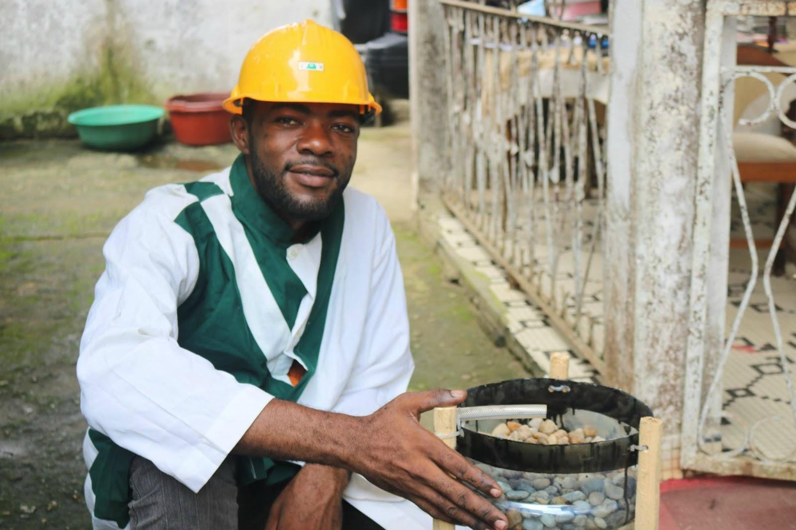 Flavien KOUATCHA, Promoteur de l'aquaponie au Cameroun