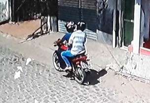 Confira o vídeo e fotos dos suspeitos do assalto ao mercadinho em Carnaúba