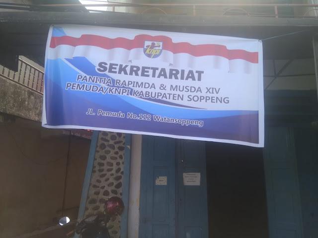 Hari ini, KNPI Soppeng  Buka Pendaftaran Bakal Calon Ketua