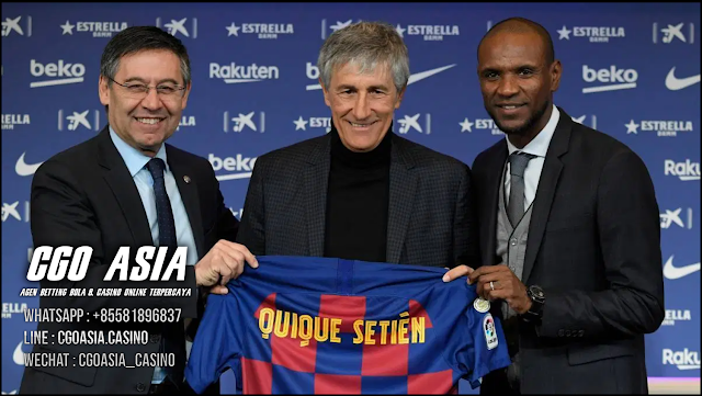 Quique Setien di ujung tanduk Camp Nou - Rumahsport.com