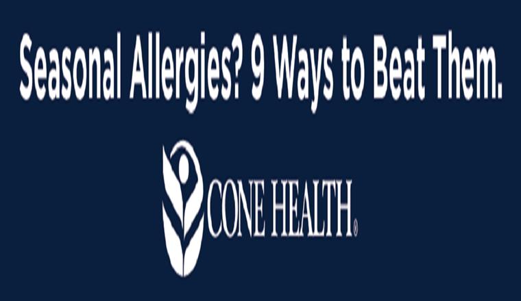 Seasonal Allergies? 9 Ways to Beat Them #infographic