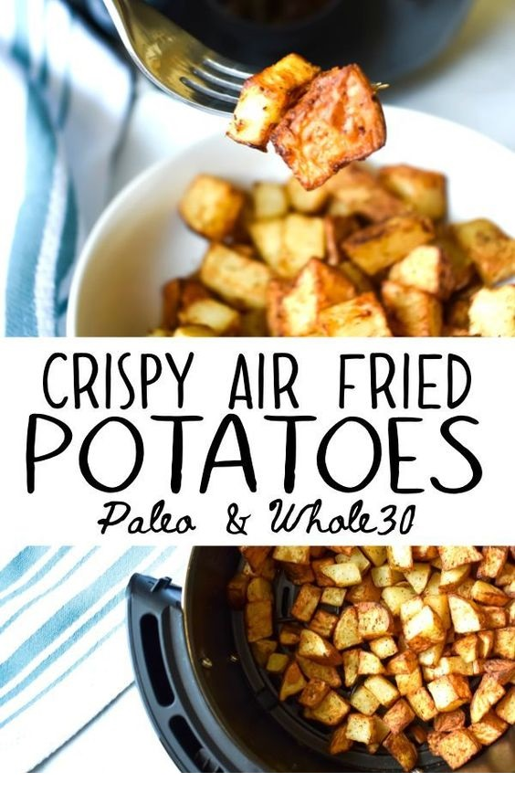 Crispy Air Fired Potatoes: Healthy Comfort Food