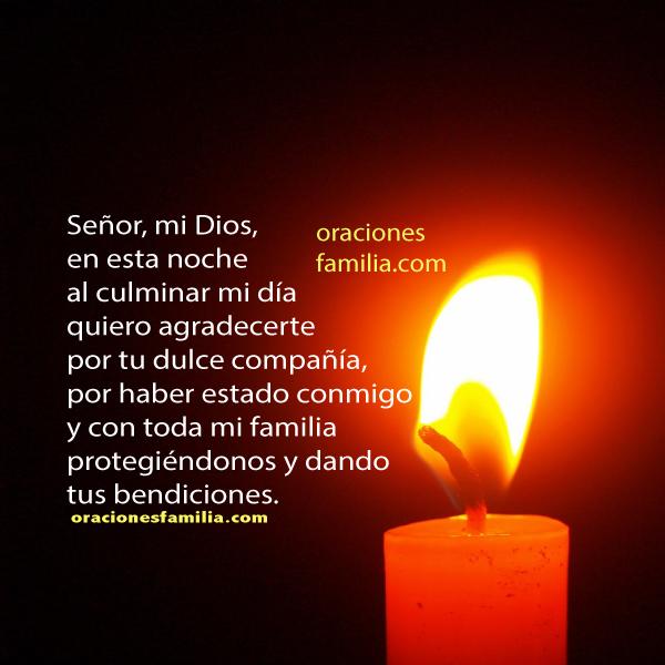 Oración para decirla antes de dormir, Oración para la noche, salmo para la noche, oraciones de la noche, Mery Bracho plegarias.