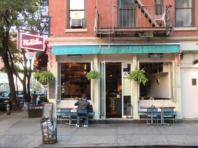Chez Rintintin Street view of soho in manhattan - new-york