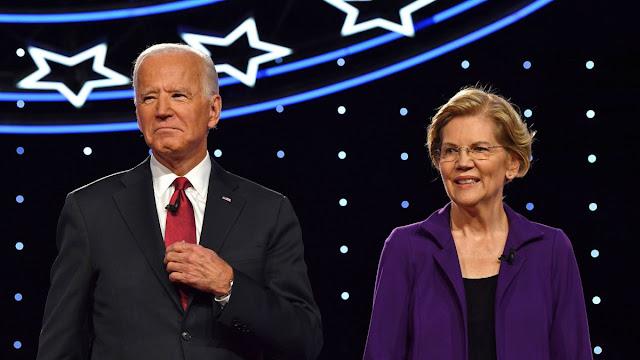 Elizabeth Warren endorses Joe Biden for president  2020