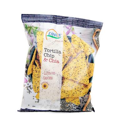Zanuy tortilla chips con semillas de chía