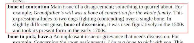 Arti Bone of Contention