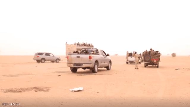 السودان.. قوات الدعم السريع تضبط عصابة تهريب واتجار بالبشر
