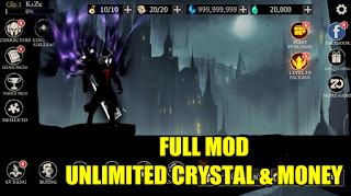 Download Shadow Of Death MOD APK Unlimited Crystal, Souls & Money