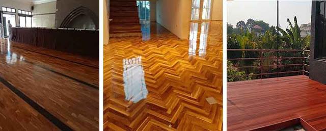 investasi lantai kayu solid