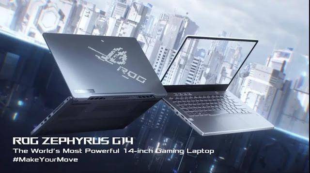 ROG Zephyrus G14, Laptop Gaming Terbaru dari ASUS dengan Fitur LED Kece!