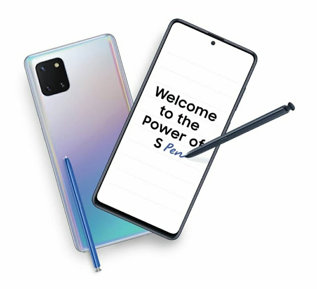 Samsung Galaxy Note 10 Lite review S pen